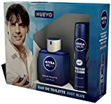 NIVEA MEN Estuche de regalo 2 productos en un pack para hombre con colonia masculina y desodorante en spray, caja de regalo con una fragancia exclusiva