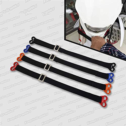 Kungfu Graphics Front Adjustable Rescue Strap for Dirtbikes Motocross...