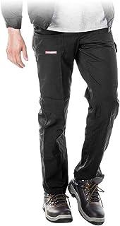 Grigio//Nero e Nero//Grigio Resistenti con Tasche per Cuscinetti sulle Ginocchia e Cuciture rinforzate; Disponibili in Nero da Lavoro Modello Cargo ProLuxe Pantaloni da Uomo Blu Navy