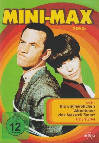 oder Die unglaublichen Abenteuer des Maxwell Smart - Staffel 1 (5 DVDs)