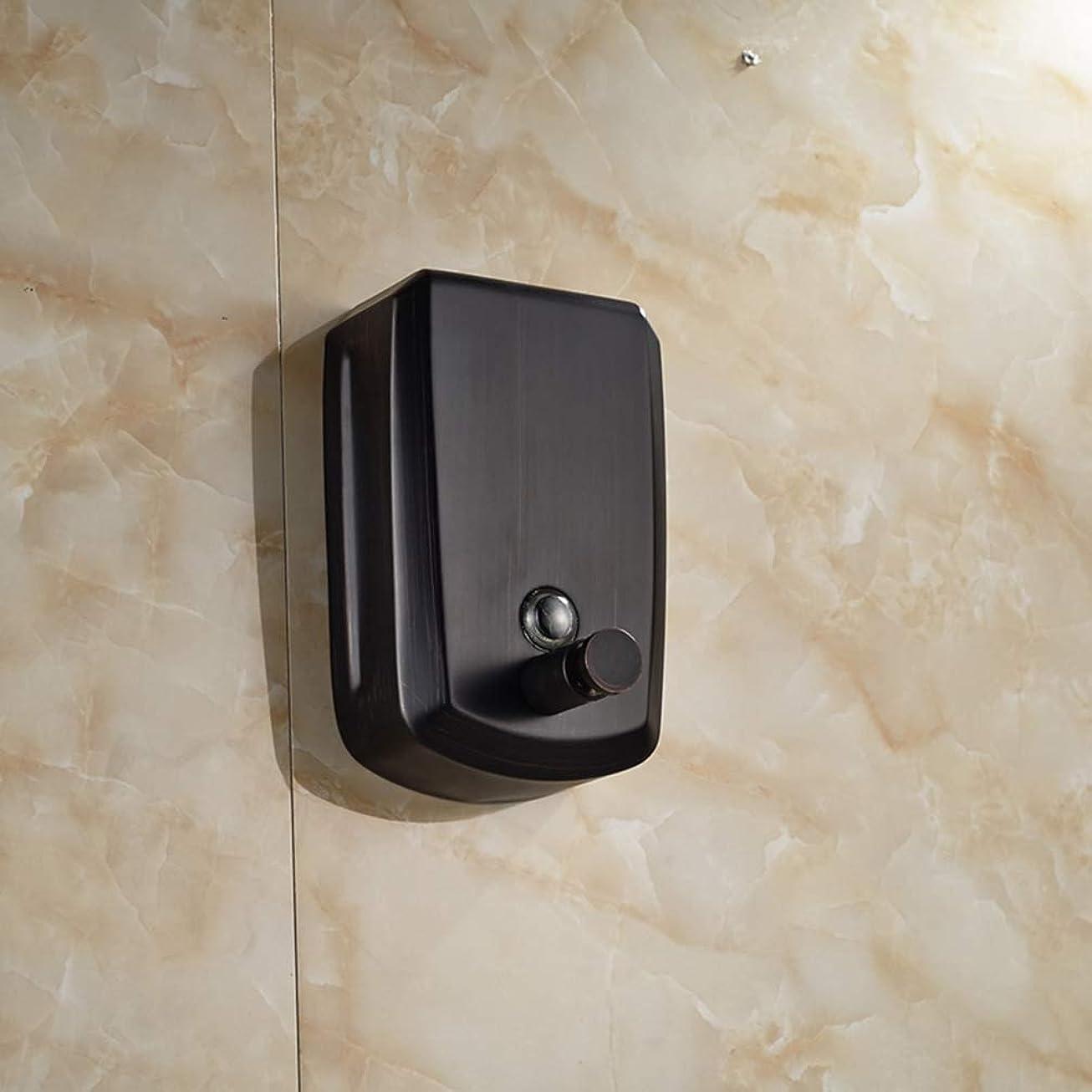 レンチ翻訳する王子LUDSUY Oil Rubbed Bronze 800ml Bathroom Soap Dispenser Liquid Soap Pump Lotion DispenserBathroom accessories