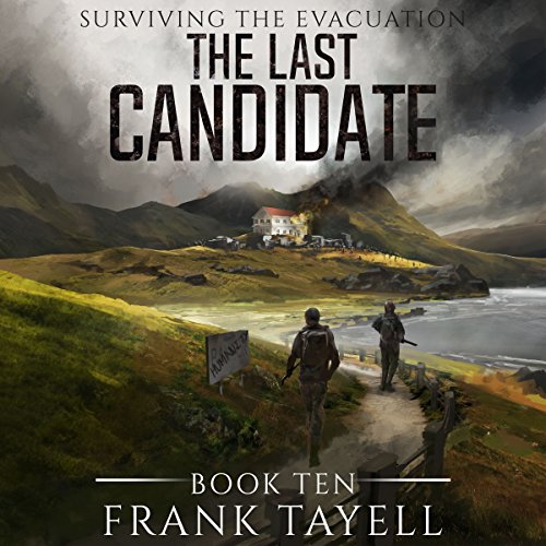 The Last Candidate audiobook cover art