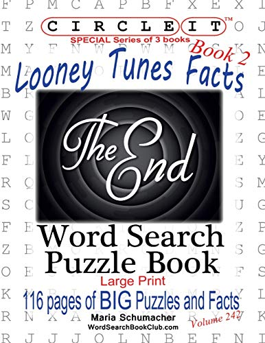 Circle It, Looney Tunes Facts, Book 2, Word Search, Puzzle Book