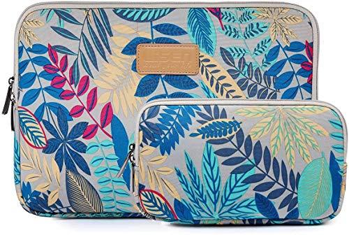 TANGMEN Housse pour Ordinateur Portable 11-12 Pouces Pochette pour MacBook Pro/Macbook Air avec Sac De Charguer