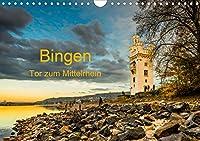 Bingen - Tor zum Mittelrhein (Wandkalender 2021 DIN A4 quer): Professioneller Fotokalender von Bingen am Tor zum Mittelrhein mit Sehenswuerdigkeiten wie historischen Bauwerken sowie technischen Museumsstuecken (Monatskalender, 14 Seiten )