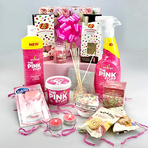 Luxury Large Cleaning & Pamper Bundle Set - Gift Wrapped Mrs Hinch
