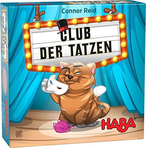 HABA 305277 - Club der Tatzen, Familienspiel ab 7 Jahren, Deduktionsspiel mit umfangreichem Spielmaterial,für Spieleabende mit der ganzen Familie