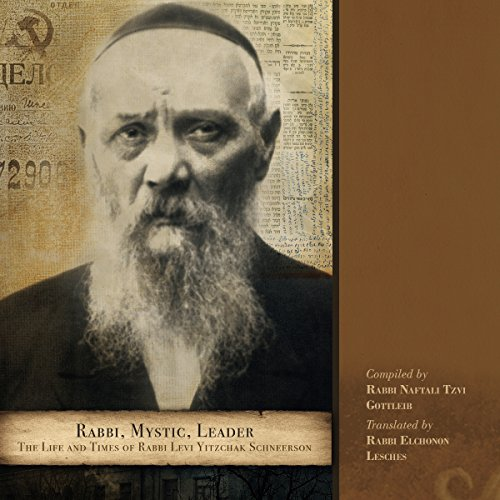 Rabbi, Mystic, Leader audiobook cover art