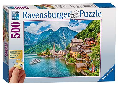 Ravensburger 136872 Puzzel Hallstatt Oostenrijk: 500 Stukjes