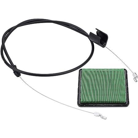 Hipa 54530-VG3-D01 Brake Cable Air Filter for Hon-da HRR216 HRS216 HRT216 HRZ216 Lawn Mower