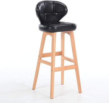 ZDD Massivholz Massivholz Massivholz Barhocker Modern Minimalist Barhocker High Stool B07K5DSX2S | Auf Verkauf  5e24f9