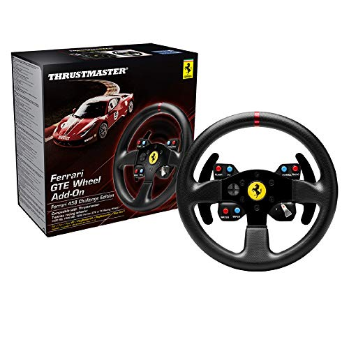 Thrustmaster Ferrari GTE 458 Wheel Addon (Lenkrad Addon28 PS4/ PS3/ Xbox One/ PC)