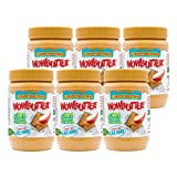 Peanut Free Tree Nut Free Natural No Stir Spread – WOWBUTTER – Award Winning Vegan Plant Protein Food made with Non-GMO verified Whole Soy – (Creamy, 1.1 Pound (Pack of 6)) (Grocery)
