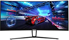 Ultra wide ultra slim curved monitor 21: 9 immerses the attention of a larger audience with a 35 inch screen that accurately resembles the contours of the human eye. 100Hz refresh rate with 100Hz refresh rate, images transition rapidly and smoothly w...