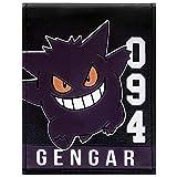 Cartera de Pokemon Gengar 094 púrpura de la Raya Púrpura
