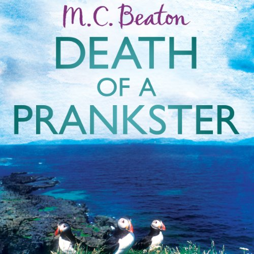 Death of a Prankster audiobook cover art