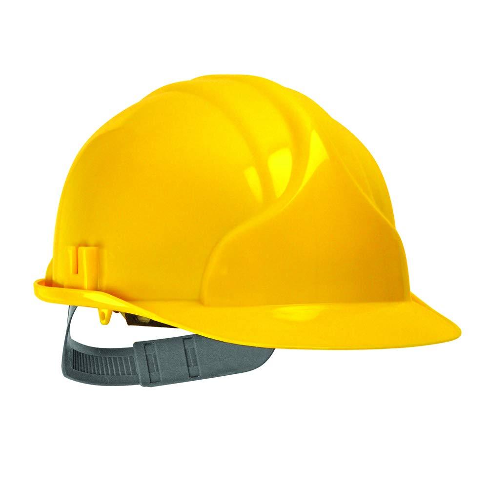 JSP AHC110-000-200 Mk3 - Casco de seguridad con trinquete, color amarillo: Amazon.es: Amazon.es