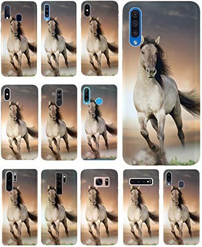 CoverHeld Hülle für Apple iPhone 6 / 6s Handyhülle Design 1005 Pferd Braun Weiß Hengst aus flexiblem Silikon SchutzHülle Softcase HandyCover Hülle für Apple iPhone 6 / 6s