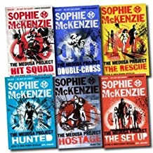 The Medusa Project Collection Sophie McKenzie 6 Books Set (The Rescue, The Hostage, The Set Up, Hunted, Double Cross, Hit ...