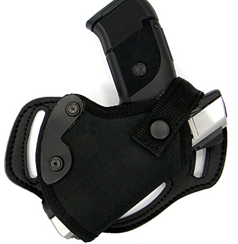 HOLSTERMART USA Right Hand Small of Back (SOB) or Side/Hip Belt Holster for FNS-9C, FN 509, FNP-9, FNP-40FNX-9, FNX-40,