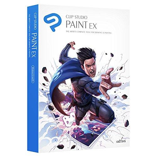 CLIP STUDIO PAINT EX - NOUVEAU - pour Windows et MacOS, Édition française