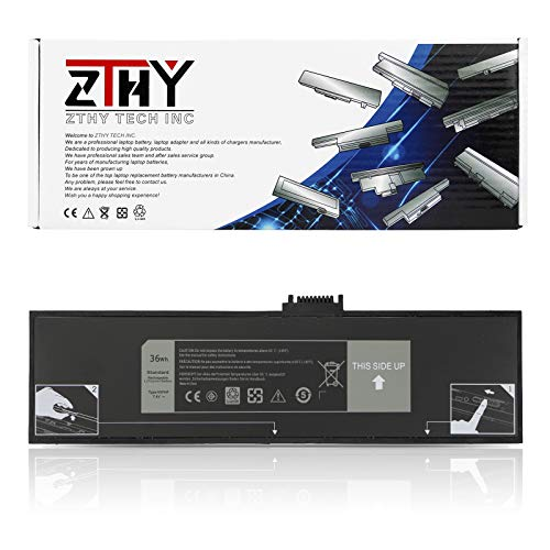 ZTHY HXFHF Laptop Battery Replacement for Dell Venue 11 Pro 7130 7139 T07G001 Tablet Series VJF0X VT26R XNY66 451-BBGR 0VT26R 7.4V 36Wh