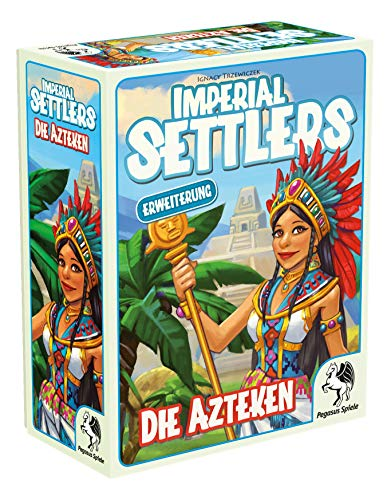 Pegasus Spiele 51966G - Imperial Settlers Die Azteken