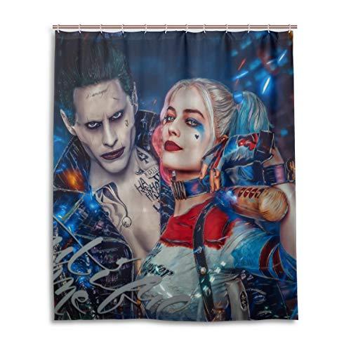 513truxRjIL Harley Quinn Shower Curtains