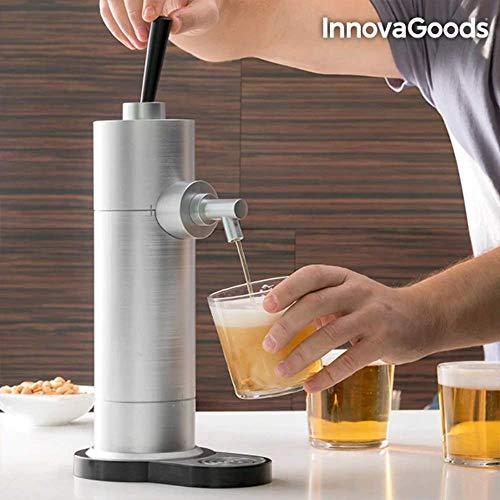InnovaGoods Grifo de Cerveza, Gris, 18.5x12x41 cm