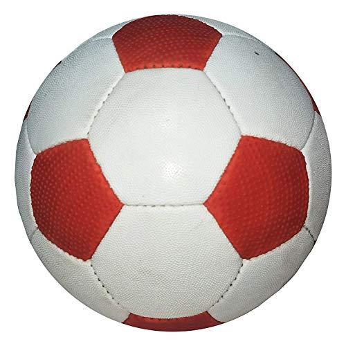 RPMSportsRock2RubberFootballSize5RedandWhite