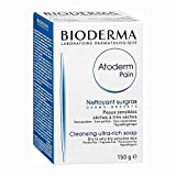 Bioderma Atoderm Intensive Baby Soap Bar From Birth Gently Cleanses and Purifies The