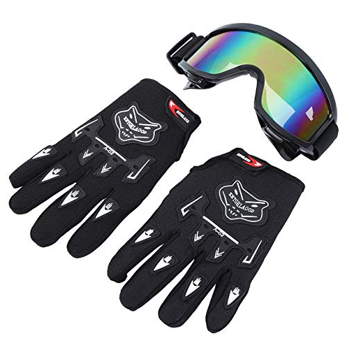 Product Image 10: Samger DOT Adult Offroad Helmet Motocross Helmet Dirt Bike ATV Motorcycle Helmet Gloves Goggles