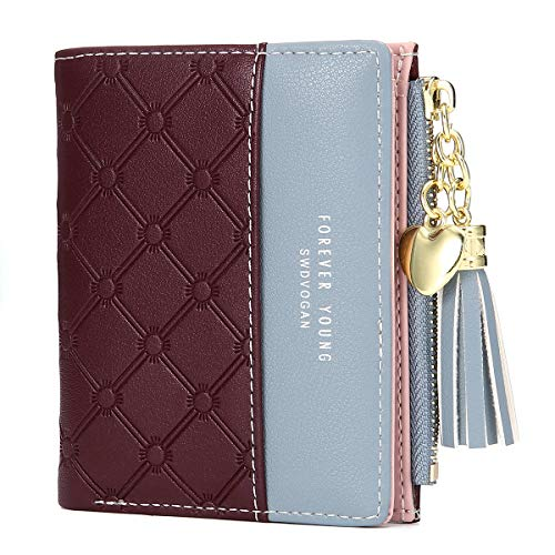 Women's Wallet Ladies Purse, JOSEKO Tassels PU Leather Multi-Slots...