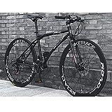LWJPP 24 Bicicletas de Velocidad Completa Bicicletas MTB Suspension for Hombres/Mujeres con Ruedas de Bicicleta del Camino Doble del Freno de Disco de Bicicletas Sorpresa del Regalo de cumpleaños