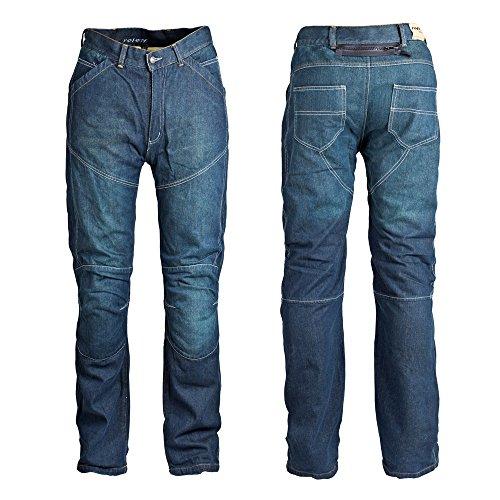 Roleff Racewear Motorradhose Jeans, Blau, Größe 34