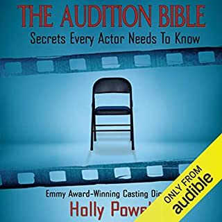 The Audition Bible audiobook cover art
