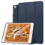 MoKo Funda Compatible con New iPad Mini 5th Generation 7.9' 2019/iPad Mini 4 2015, Ultra Slim Ligera Función de Soporte Protectora Plegable Smart Cover Cubierta Durable (Auto Sueño/Estela) - Índigo