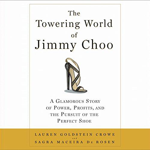 The Towering World of Jimmy Choo audiobook cover art
