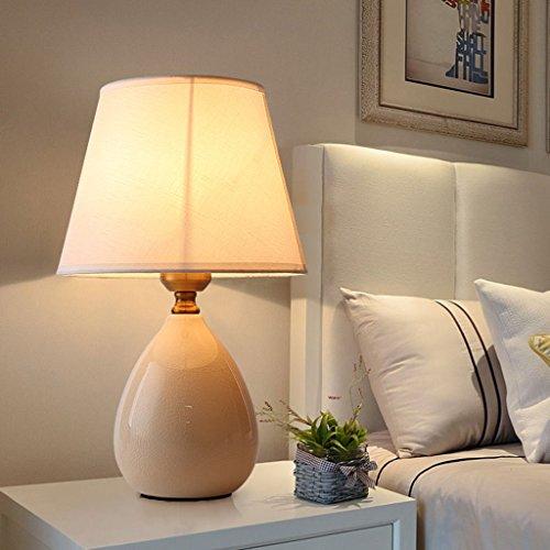 - Tafellamp keramische tafellamp - Beste keramische tafellamp serie In Amazon Mall (WE18600) - eersteklas kwaliteit bedlampje