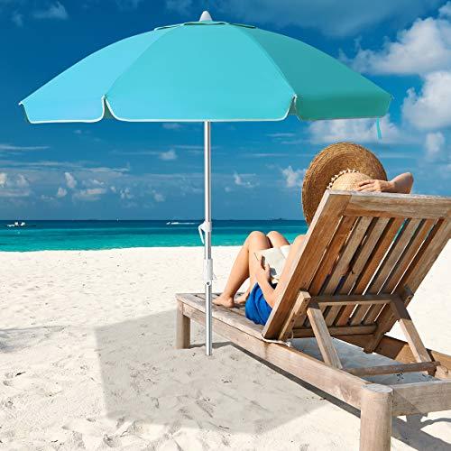 MEWAY 6.5ft Beach Umbrella