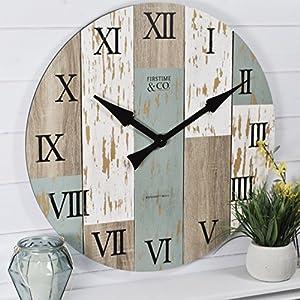 513twtXWrmL._SS300_ Coastal Wall Clocks & Beach Wall Clocks