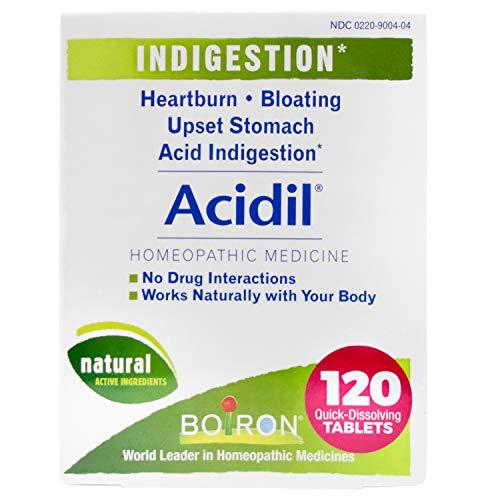 Boiron Acidil Indigestion Medicine for Heartburn...