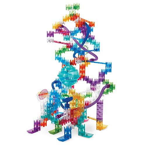 MindWare Q-BA-Maze Marble Run Building Set: 270+ Colossal Stunt Set