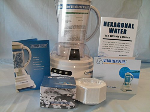 Vitalizer Plus Hexagonal Oxygen Water Maker with One Mineral Cube