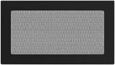 Rejilla de 17 cm x 30 cm Kratki colour negro
