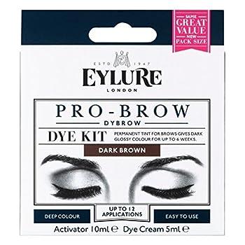 Eylure Pro-Brow 6 Weeks Brow Dye Kit Dark Brown by Eylure