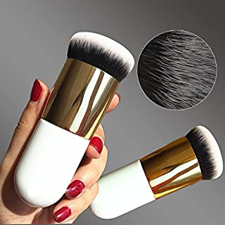 xlpace New Chubby Pier Foundation Brush Flat Cream Makeup Brushes Professional Cosmetic Make-up Brush