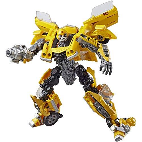 Verformungsspielzeug, Kinderspielzeug, rostige Version, verformtes Auto, verformte bewegliche Puppe, KO-Version von Roboter