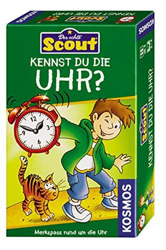 Kosmos 710545 - Scout - Kennst du die Uhr?
