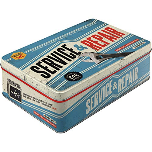 Nostalgic Art Tin Boxes - Service & Repair. Great Fathers Day Gift